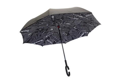 Umbrela reversibila NewsPaper Bedora