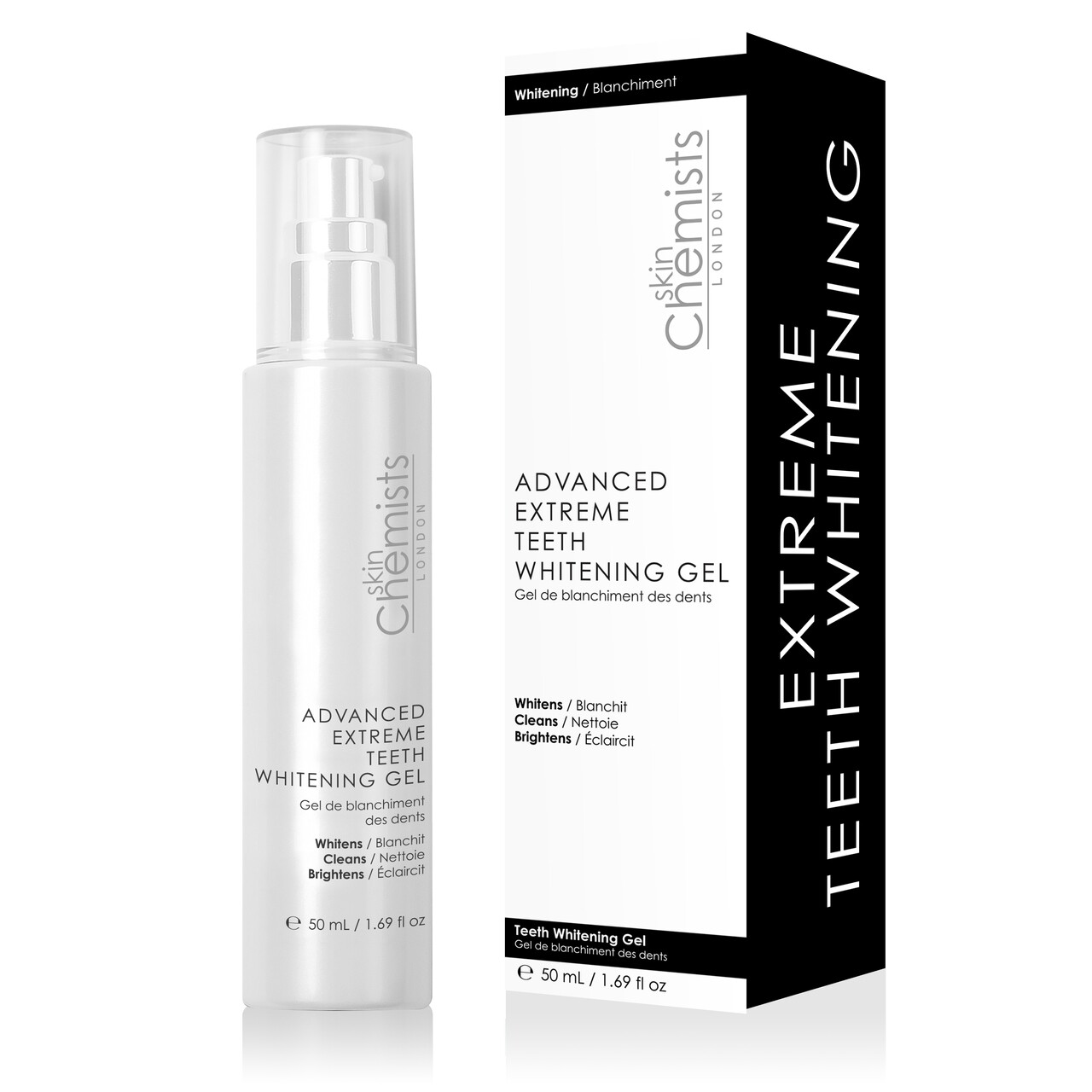 Tratament pentru albirea dintilor, SkinChemists, Advanced Extreme Whitening, 50 ml