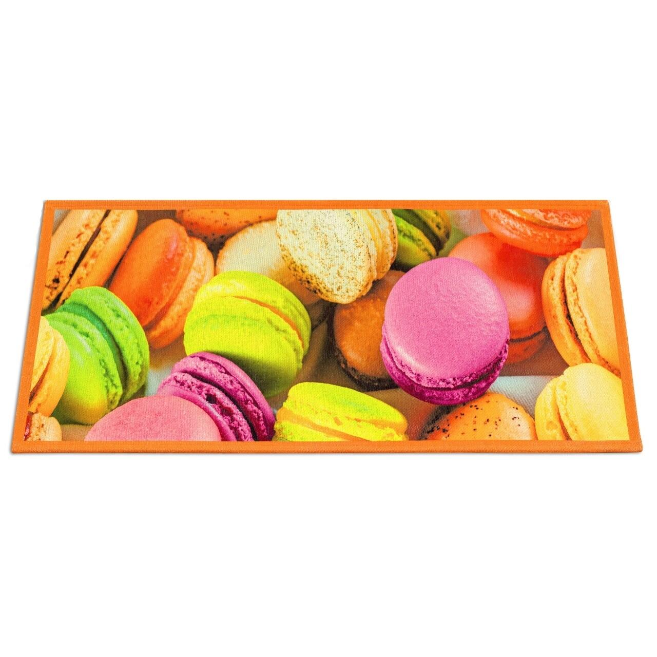 Covor rezistent Webtappeti Macarons 60x190 cm, multicolor