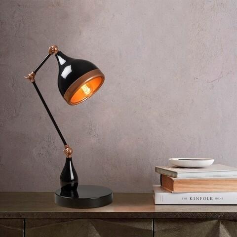 Lampa de birou, Opviq, Yildo - 7015, E27, 100 W, metal