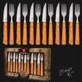 Set 12 tacamuri, Berlinger Haus, inox/lemn