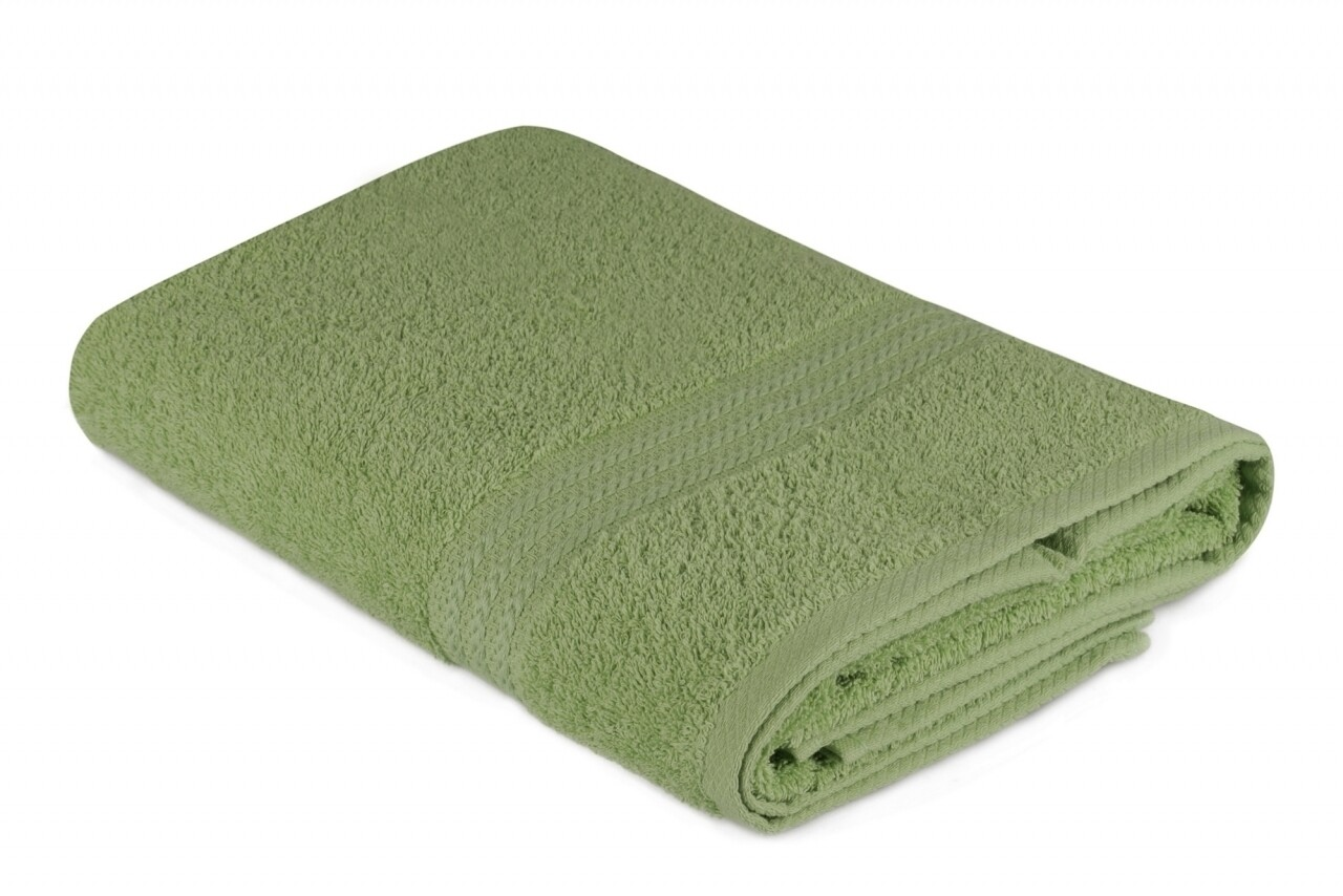 Prosop de baie, Hobby, 70x140 cm, 100% bumbac, verde