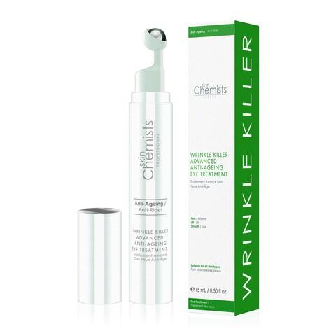 Tratament antirid pentru zona ochilor, SkinChemists, Wrinkle Killer Advanced Anti-Ageing, 15 ml