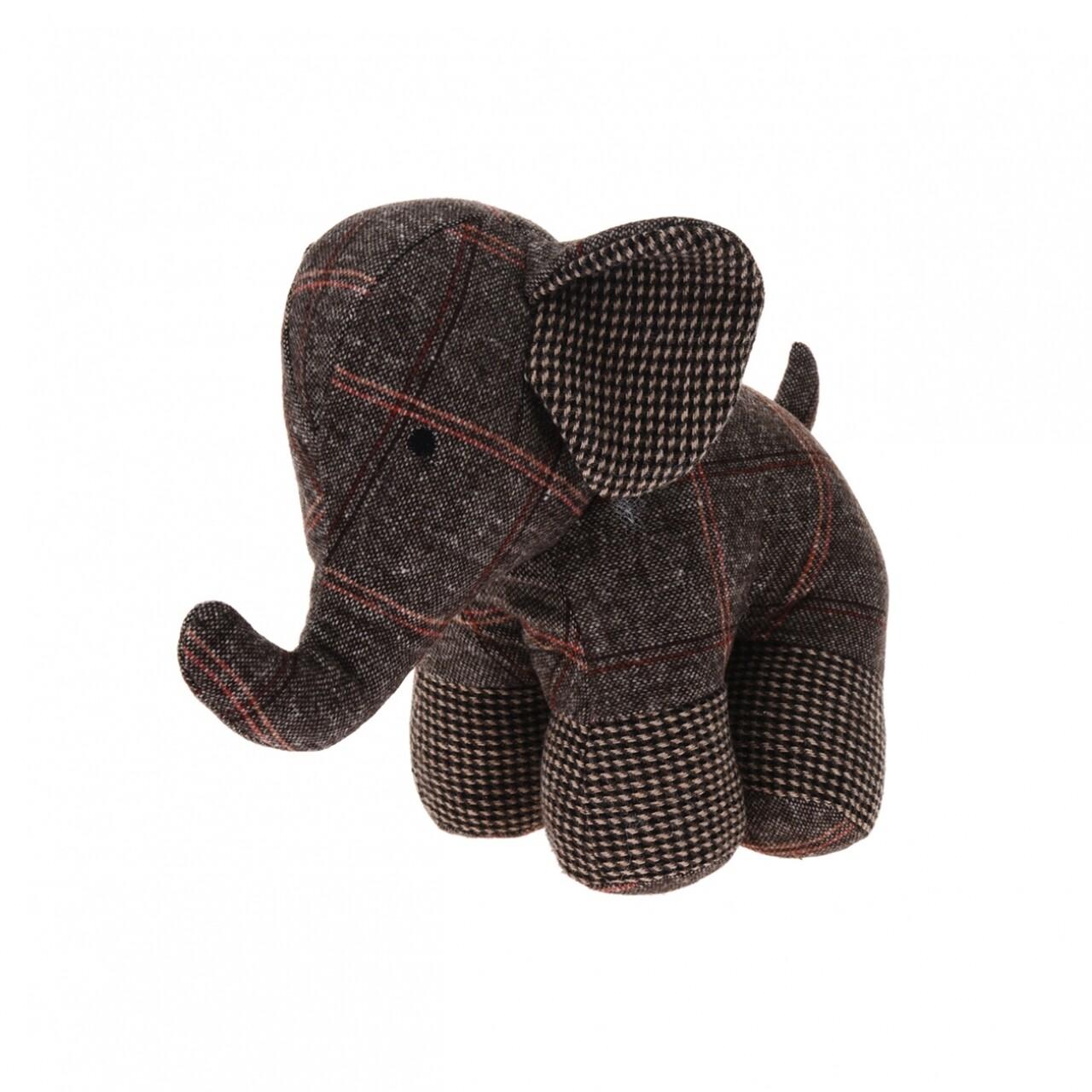Opritor pentru ușă Elephant Brown 28x17x23 cm