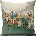 Perna decorativa, Gravel, A13029, 43x43 cm, policoton, multicolor