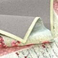 Covor rezistent Webtappeti Jams 60 x 190 cm, roz/gri