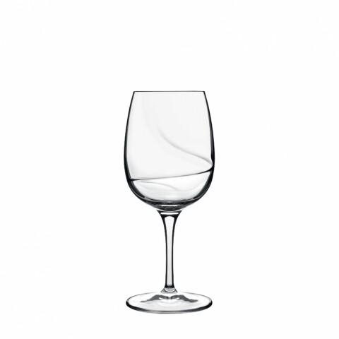 Set 6 pahare vin alb, cristalin, Aero, Luigi Bormioli