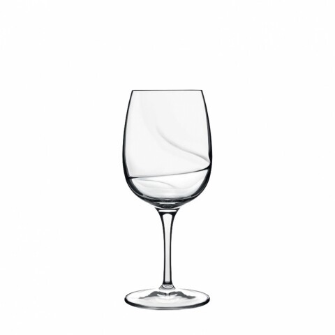 Set 6 pahare vin alb Aero, Luigi Bormioli, 325 ml, sticla cristalina, transparent