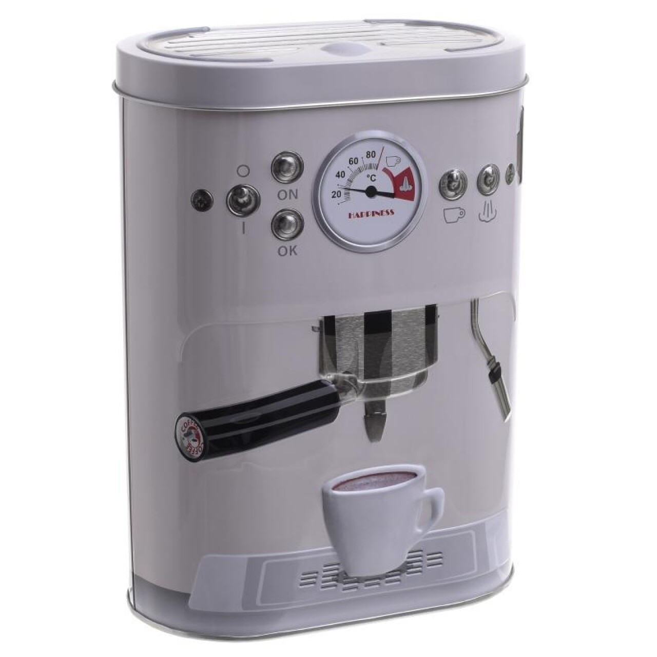 Cutie de depozitare InArt, 13.5X7.5X19 cm, Espresso