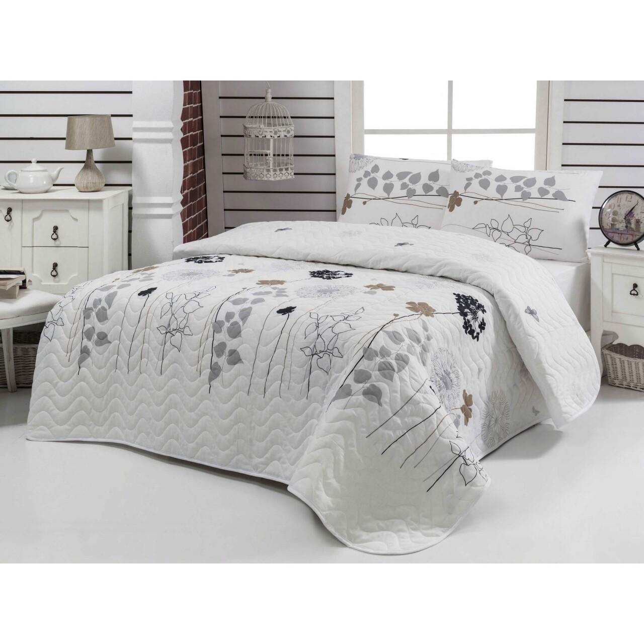 Set de pat double Atlantis White