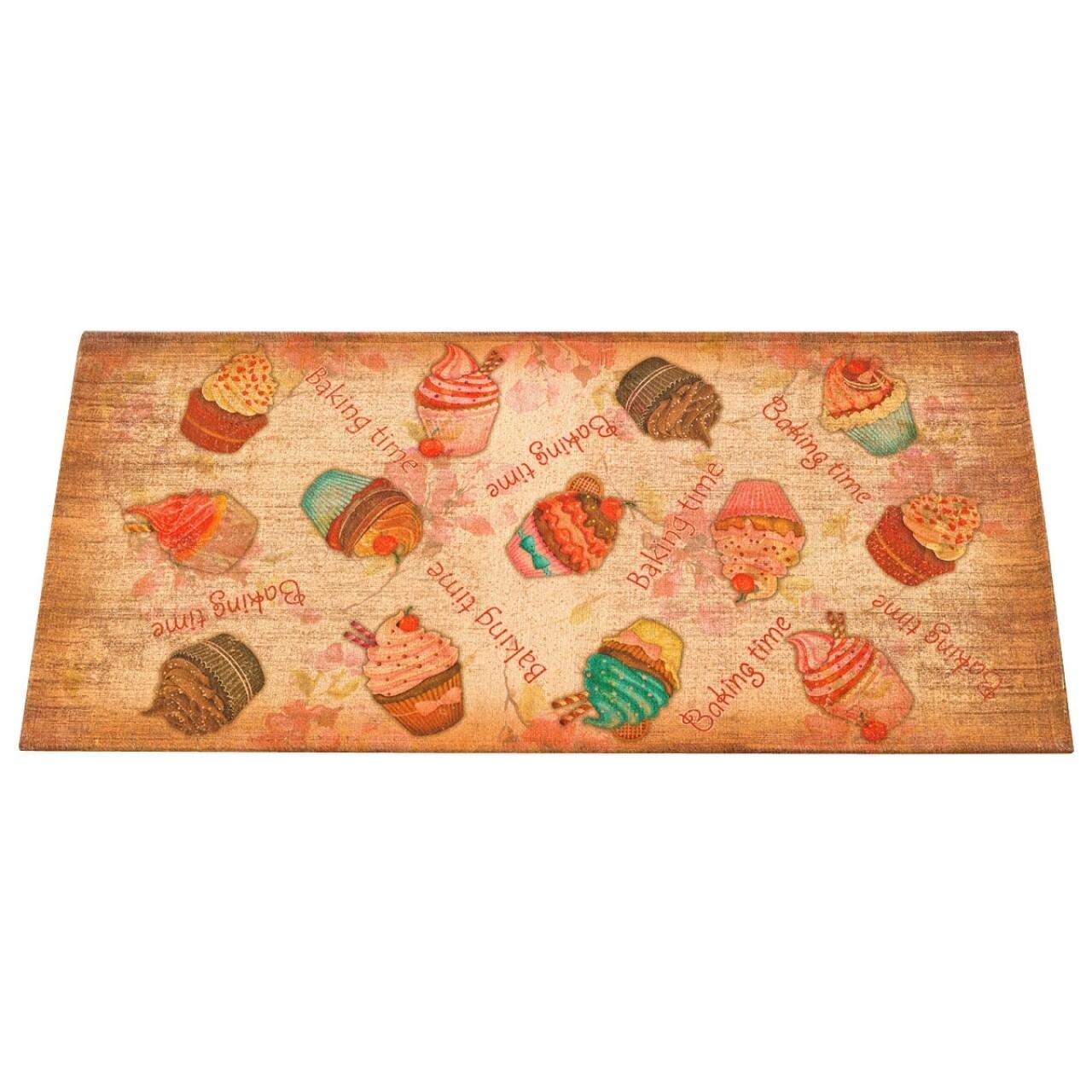 Covor rezistent Webtappeti Cakes 60 x 140 cm, multicolor