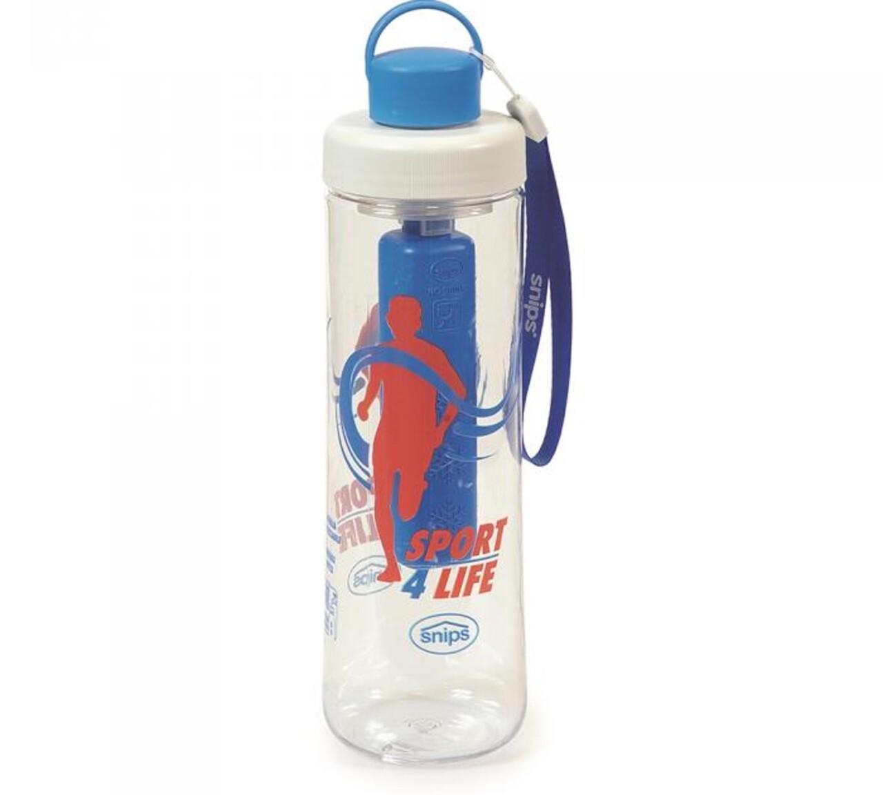 Sticla cu dispozitiv racire, Sport Ice Water, 0.75 L, tritan