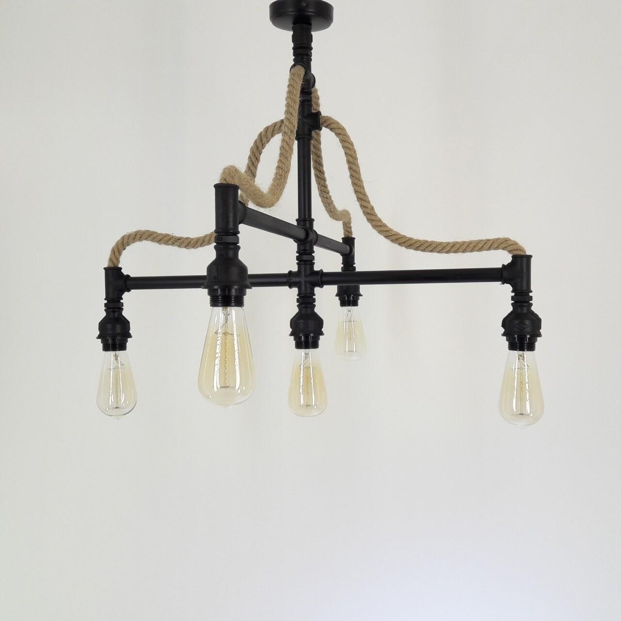 Candelabru All Design, metal, 73x55 cm, Black