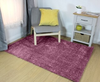 Covor lucrat manual, Mixed Wine, Flair Rugs, 140 x 220 cm, poliester, rosu