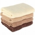 Set 4 prosoape de maini Brown Delight, Hobby,  50 x 90 cm, 100% bumbac, maro