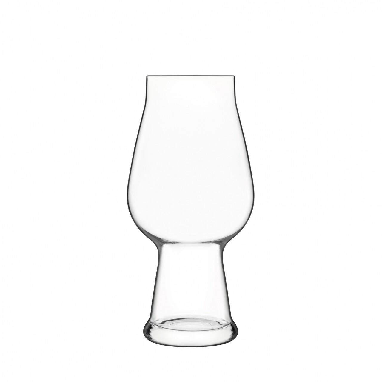 Set 6 pahare bere Birrateque IPA white, Luigi Bormioli, 532 ml, sticla cristalina, transparent