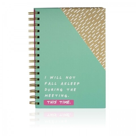 Agendă npw Notes To Self-''I will not fall asleep