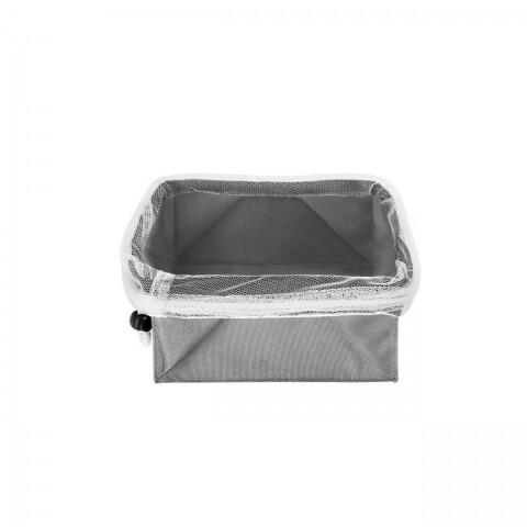 Cutie pliabila pentru depozitare fructe si legume Metaltex, 18x18 cm
