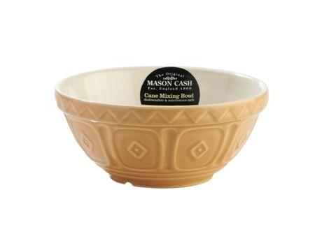 Bol pentru amestecat, Mason Cash, Baker Romb, 15 x 7 cm, ceramica, maro