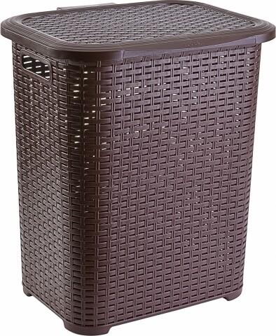 Cos de rufe Brown Heinner, 34.5 x 41 x 46 cm (45L), plastic, maro