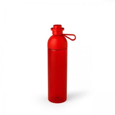 Sticla de apa LEGO, 740 ml, polipropilena/silicon/ tritan, rosu