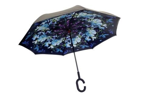 Umbrela reversibila Flower Bedora
