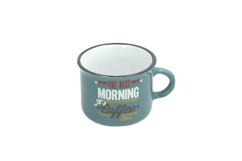 Ceasca pentru cafea, Tognana, 110 ml, ceramica, albastru