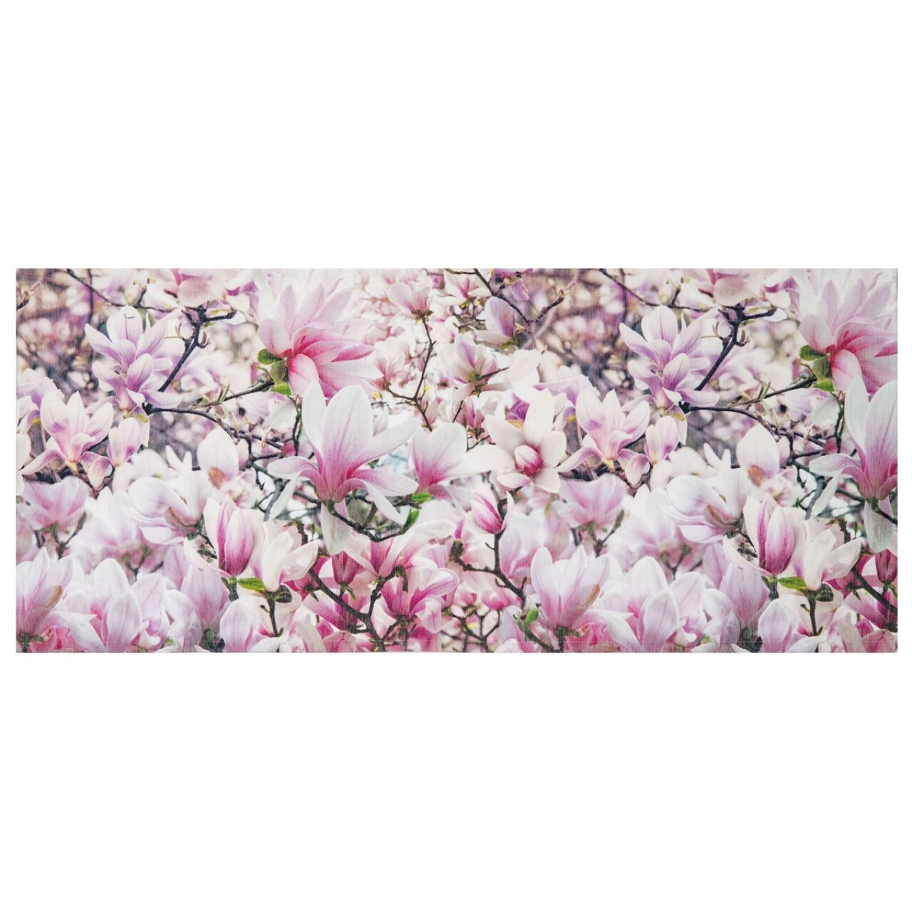 Covor rezistent Webtappeti Magnolia 58 x 140 cm, roz