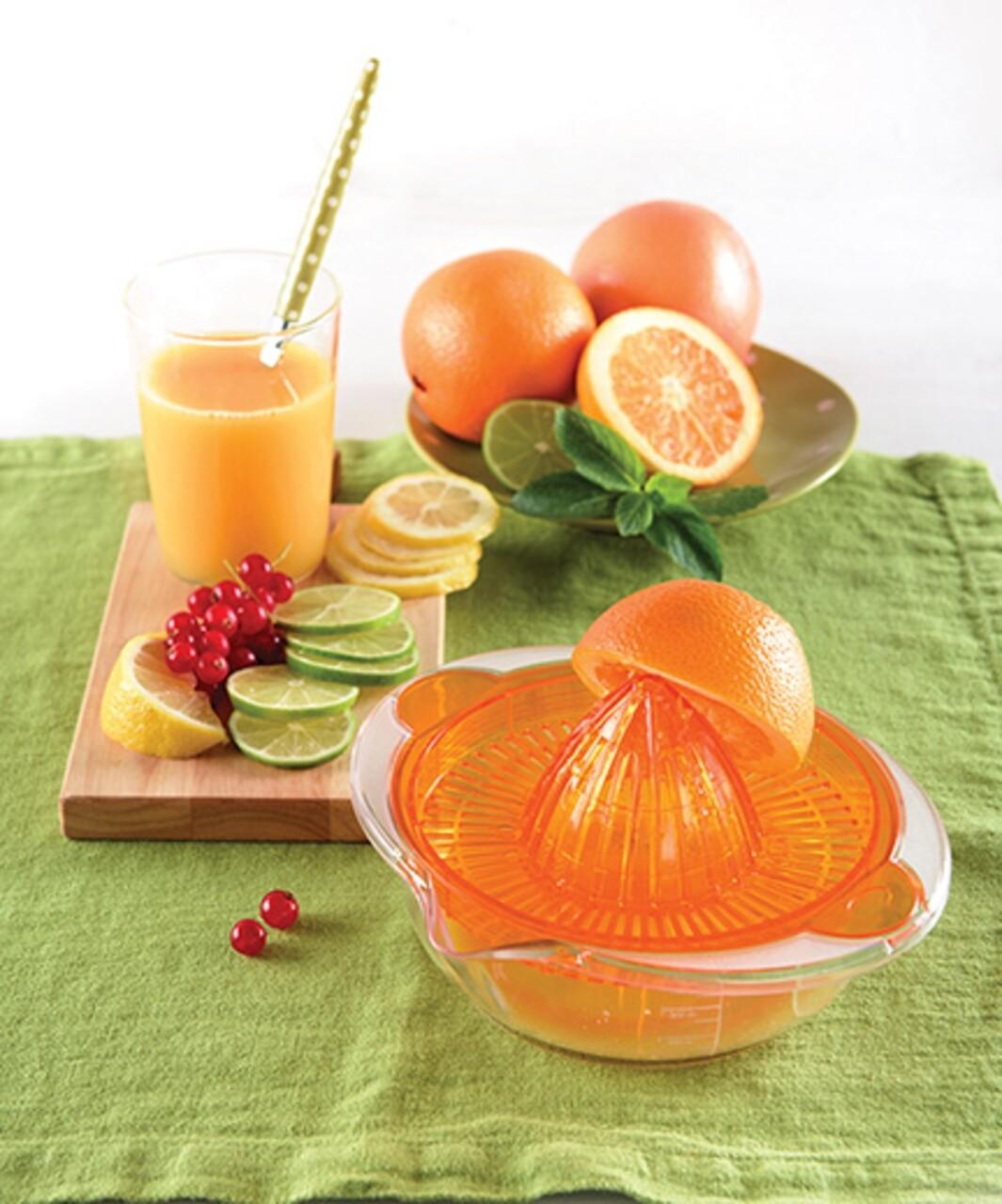 Storcator citrice, Snips, Citrus Juicer, 0.7 L, plastic, portocaliu