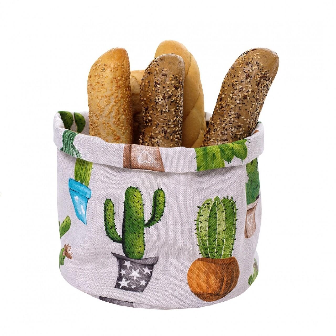 Coș pentru pâine Cactus