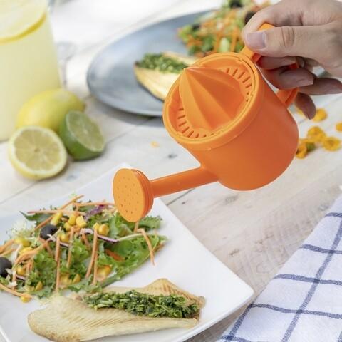 Storcator de citrice cu stropitoare InnovaGoods Watering Can Juices, 200 ml, ABS