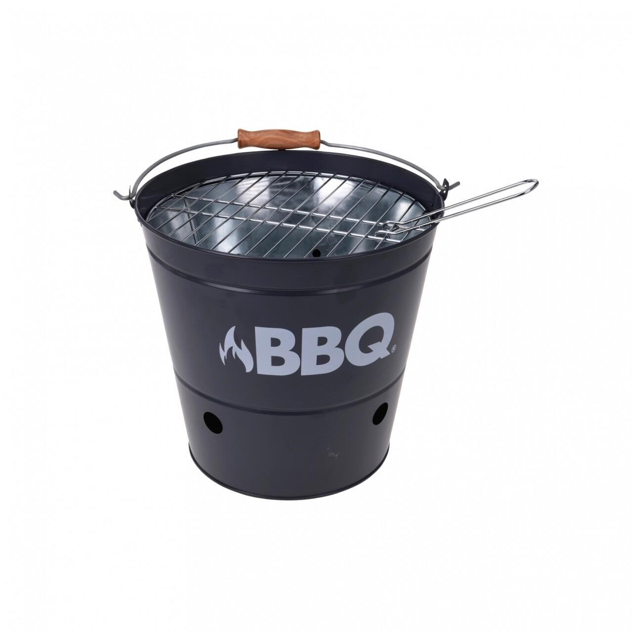 Gratar BBQ Grey, 19 x 19 x 25 cm, metal, gri
