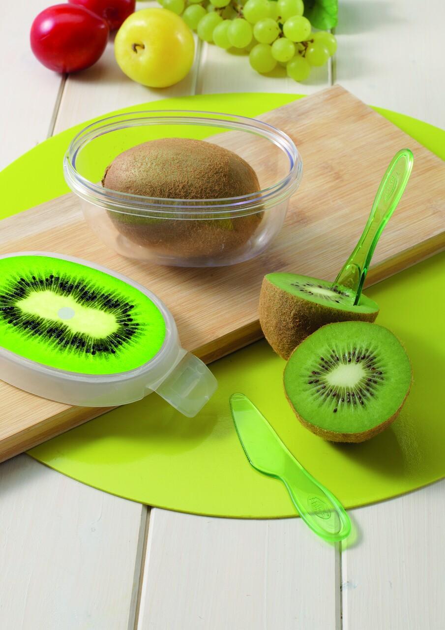 Cutie depozitare kiwi, Snips, Kiwi Fruit Keeper, 13 x 8.3 x 7 cm, plastic