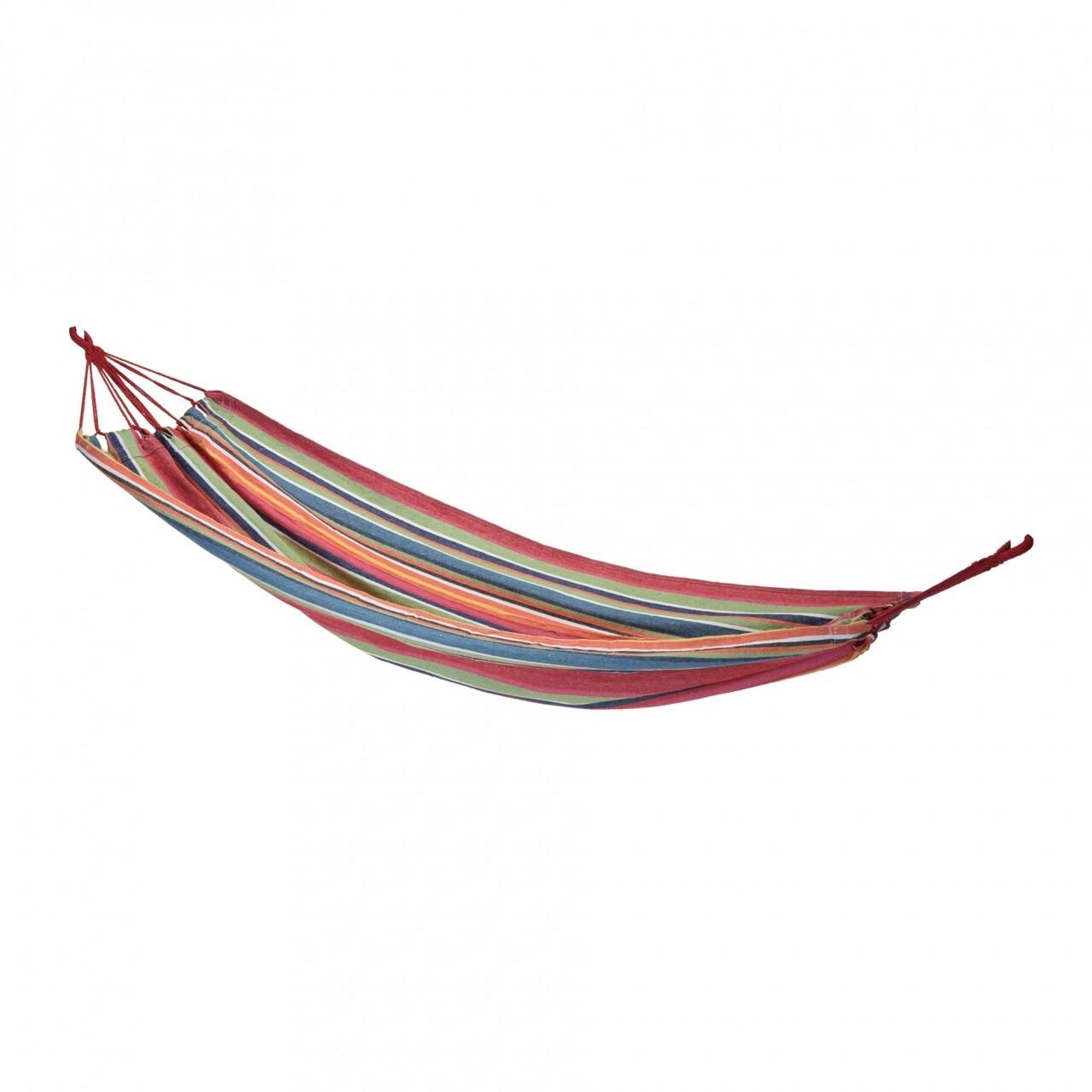 Hamac Comfy, 200 x 100 cm, 60% bumbac si 40% poliester, multicolor