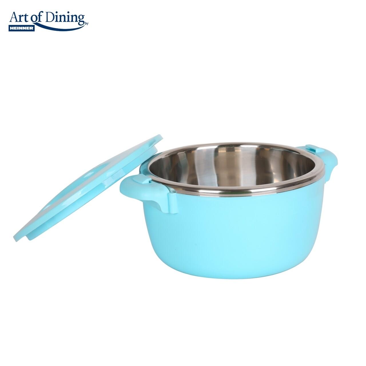 Caserola termica, Heinner Home, 8L, inox/polipropilena, albastru
