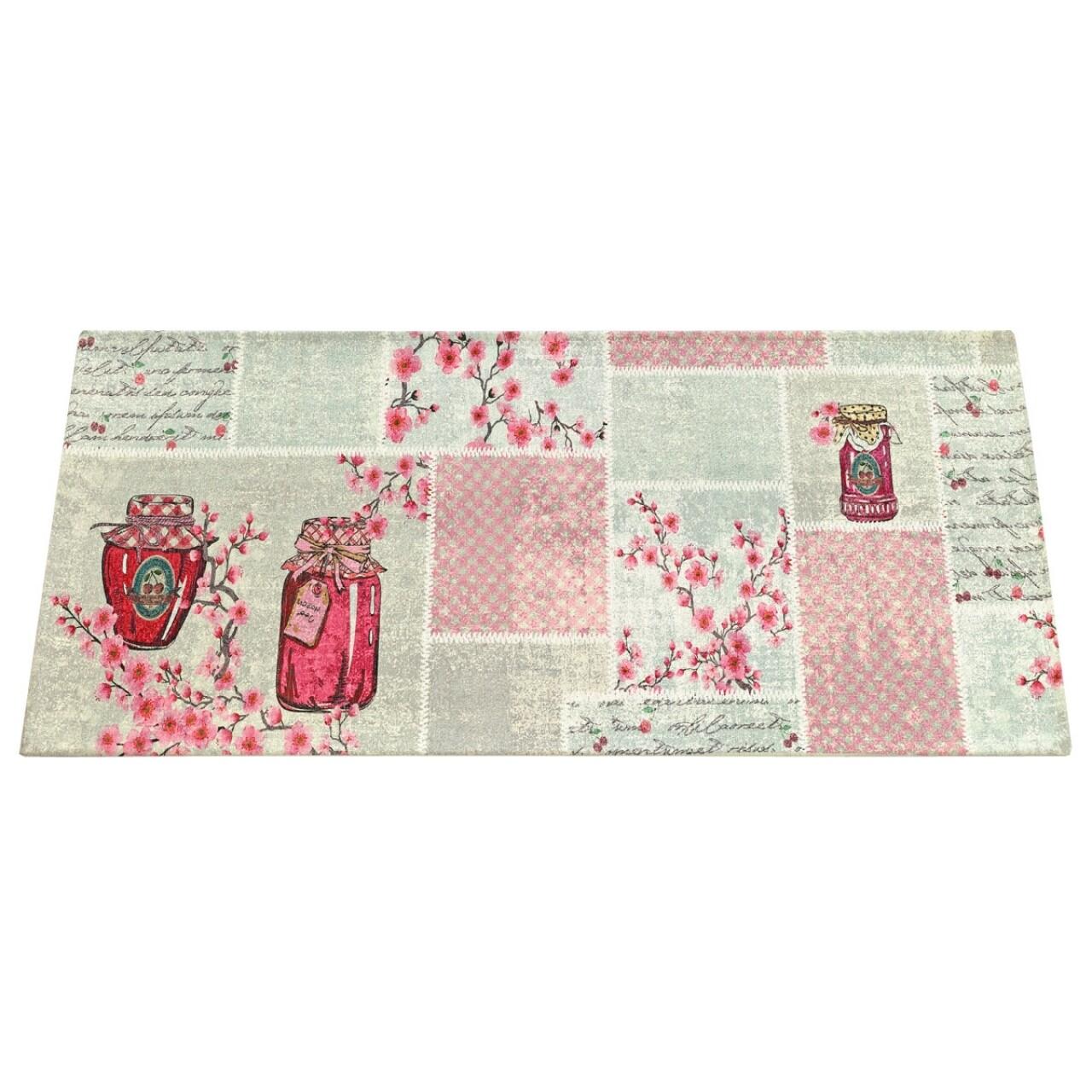 Covor rezistent Webtappeti Jams 60 x 115 cm, roz/gri