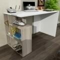 Birou Wooden Art, Labran White Cordoba, 120x73.8x60 cm