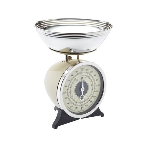 Cantar bucatarie, Kitchen Craft, 2 kg, 30 x 23 cm, inox/metal