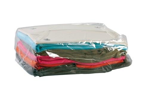 Punga de vidat, Compactor, 50x60x30 cm, polietilena/nailon, transparent