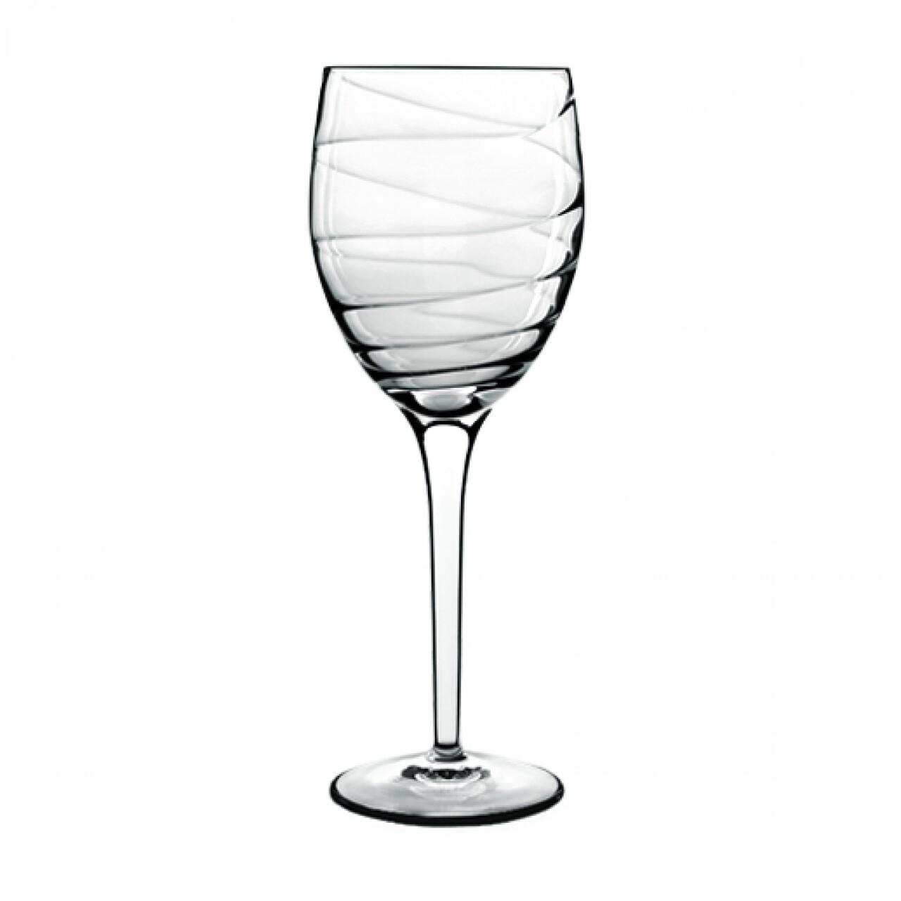 Set 4 pahare all-purpose Romantica, Luigi Bormioli, 384 ml, cristalit, transparent