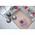 Covor indoor outdoor Floorita CHROME PINK 135X190