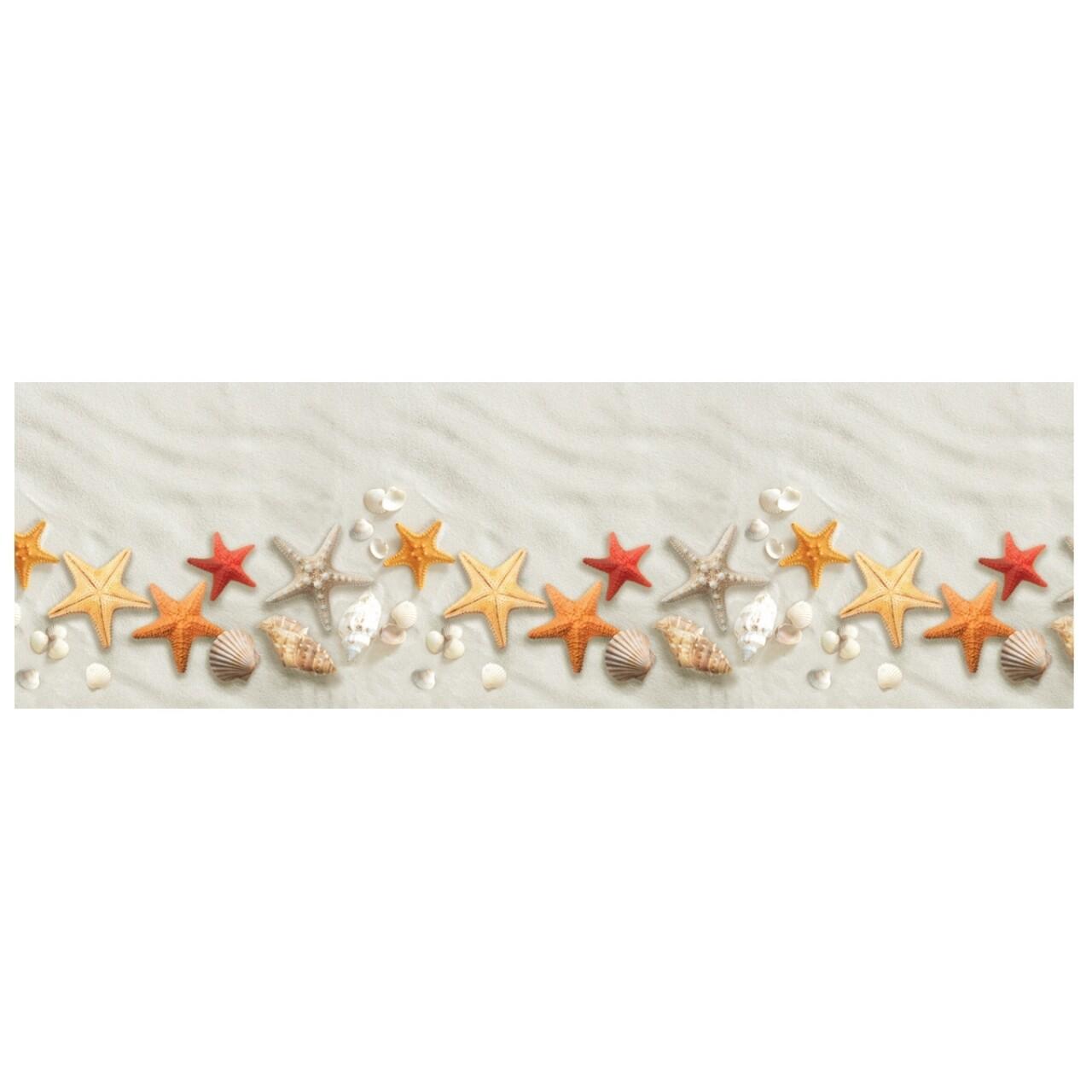 Covor rezistent Webtappeti Spiaggia 58 x 140 cm, multicolor