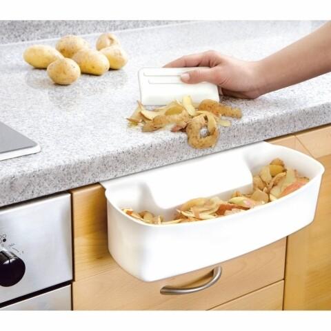 Tavă de colectare deșeuri Wenko pentru bucătărie, cu racletă