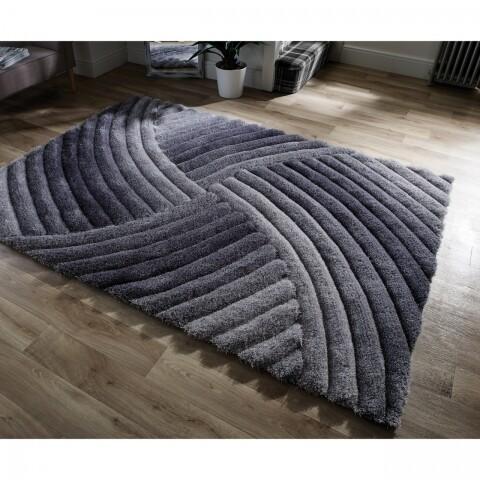 Covor Verge Furrow Grey 120X170 cm