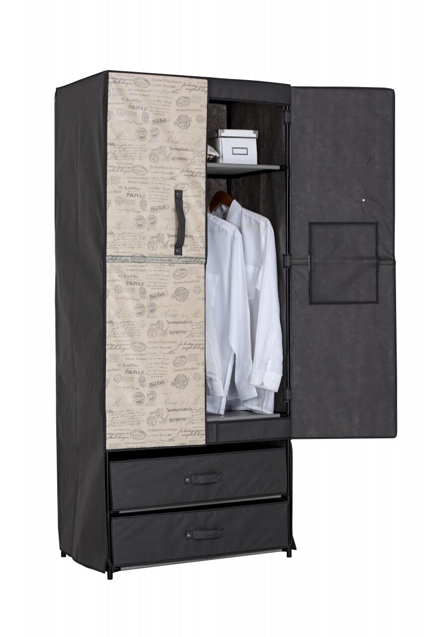 Dulap Jocca cu sertare și uși rigide 74x46x172 cm