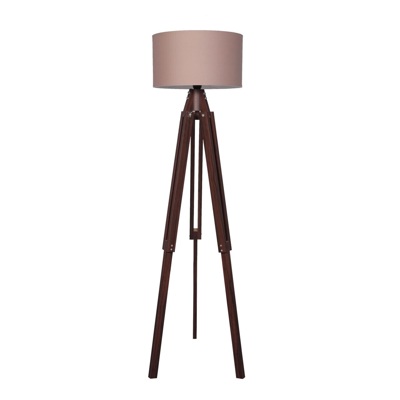 Lampadar Casa Parasio, 38x145 cm, 1 x E27, 60 W, maro