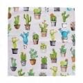 Față de pernă decorativă Cactus 50x50