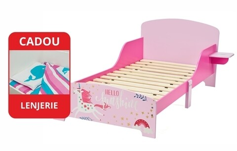 Pat pentru copii Believe in your dreams, U-Grow, roz