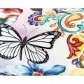 Lenjerie de pat dubla Adaline Multi, Melli Mello, 3 piese, 200 x 220 cm, 100% bumbac satinat, multicolora