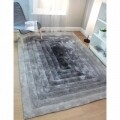 Covor Verge Ridge Black/Grey 160X230